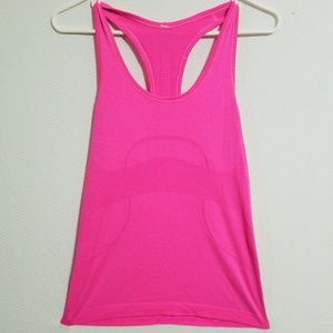 LULULEMON Pink Tank Top Size 8 Athletic Gym Wear